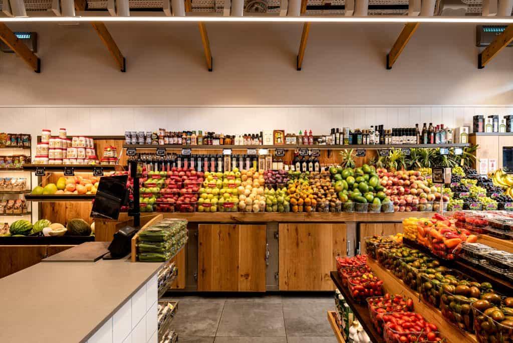 עיצוב חנות פירות וירקות