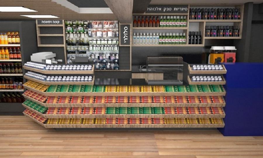 עיצוב חנויות ממתקים